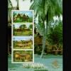 แผ่นชีทแสตมป์ชุด งานแสดงตราไปรษณียากรแห่งชาติ ภาพเรือนไทย 4 ภาค ปี 2540 (ยังไม่ใช้)
