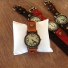 :: งานhand made..geniune Leather Vintage Watch..สายหนังแท้ สวยมากครับ ::