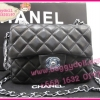 "Chanel Classic Mini Lamp Leather Silver Hardware 7"" **เกรดท๊อปมิลเลอร์** (Hi-End)"