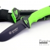 มีดใบตายเดินป่า Ganzo Hunting Survival Knife กานโซ่ รุ่น G-8012 LG สีดำตัดเขียวอ่อน ของแท้ 100%