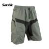 กางเกงลำลอง SANTIC เป้าgel Coolmax รุ่น C05018
