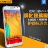 สำหรับ SAMSUNG GALAXY NOTE3 ฟิล์มกระจกนิรภัยป้องกันหน้าจอ 9H Tempered Glass 2.5D (ขอบโค้งมน) HD Anti-fingerprint