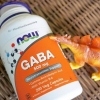 # ความจำ # Now Foods, GABA, Natural Calming Effect, 200 Capsules