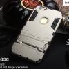 เคส iphone 6 plus (5.5) เคสกันกระแทกแยกประกอบ 2 ชิ้น ด้านในเป็นซิลิโคนสีดำ ด้านนอกพลาสติกเคลือบเงาโลหะเมทัลลิค มีขาตั้งสามารถตั้งได้ สวยมากๆ เท่สุดๆ ราคาถูก ราคาส่ง