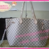 Louis Vuitton Damier Azur Canvas Neverfull GM **เกรดท๊อปมิลเลอร์** (Hi-End)
