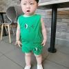 ชุดเซตลีโอนาร์ดสีเขียว [size 6m-4y]