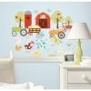 สติ๊กเกอร์ติดผนังห้องเด็กลายยุ้งข้าวแสนสุข Roommate Sticker -- Happi Barnyard