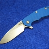 "RHK XM-18 3.5"" SLICER Blade Blue G10"
