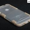 เคส iphone 6 plus (5.5) พบาสติกโปร่งใส ขอบเคส ซิลิโคน TPU กันกระแทก อด ทน ถึก เท่สุดๆ ราคาถูก ราคาส่ง ราคาปลีก