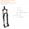 "Fox 32 FLOAT 100 3Pos FIT4 27.5"" 15QR 1.5 Tapered Black 44mm Performance Fork,2016,910-01-872"