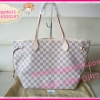 Louis Vuitton Damier Azur Canvas Neverfull MM **เกรดท๊อปมิลเลอร์** (Hi-End)