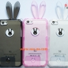 เคสยางคริสตัลใส กระต่ายน้อย ไอโฟน 5/5s