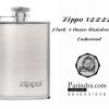 กระป๋องเหล้าแสตนเลสขนาด 3 ออนซ์ Zippo แท้ - Zippo 122228 Flask 3 Ounce Stainless Steel Embossed