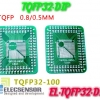 TQFP (32,44,48,64,84,100) adapter to DIP