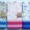 เคสกระเป๋าลายดอกไม้ ประดับเพชร Samsung Galaxy Grand 2