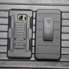 Case Galaxy S6 Edge Plus เคสกันกระแทก สวยๆ ดุๆ เท่ๆ แนวถึกๆ อึดๆ แนวทหาร เดินป่า ผจญภัย adventure เคสแยกประกอบ 3 ชิ้น ชั้นในเป็นยางซิลิโคนกันกระแทก ครอบด้วยแผ่นพลาสติกอีก1 ชั้น กาง-หุบขาตั้งได้ มีปลอกฝาหน้าแบบสวมสไลด์ ใช้หนีบเข็มขัดเพื่อพกพาได้