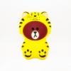 เคสซิลิโคนหมีบราวน์ใส่ชุดเสือ Vivo V5/Y67