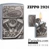 """ไฟแช็ค Zippo แท้ ฮาร์เล่ """"Zippo 29266 Harley Davidson Street Chorme Emblem """" แท้นำเข้า 100%"""