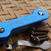Key Bar Blue Anodized Treated Titanium