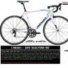 จักรยานเสือหมอบ MERIDA Scultura 100 ,16 สปีด Claris+Sora ตะเกียบฟูลคาร์บอน 2016