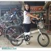 จักรยานพับได้ JCT FB703 เฟรมอลู 7 สปีด ล้อ 20 นิ้ว
