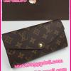 Louis Vuitton Monogram Sarah Wallet กระเป๋าสตางค์ใบยาวสองพับ ** เกรดท๊อปมิลเลอร์ ** (Hi-End)