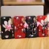 เคส Oppo Joy 5 / Neo 5s พลาสติกสกรีนลายดอกไม้แสนหวานพร้อมสายคล้องคุ้มค่ามากๆ ราคาถูก