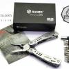 คีมเอนกประสงค์ Multi-Tools Ganzo กานโซ่ รุ่น G302-H สีเงินไทเทเนี่ยม ของแท้ 100%