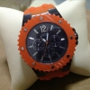 Guess Orange  Kevlar... Sport  watch W10603G1