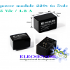 220VAC to 5Vdc/4.8A