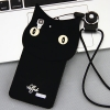 เคส OPPO R7 / R7 Lite ซิลิโคน TPU 3 มิติ แมวน้อยแสนน่ารัก น่าใช้ ราคาถูก (ไม่รวมสายคล้องคอ)