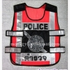 เสื้อสะท้อนแสงตำรวจ สีเเงิน