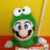 Super Mario ตุ๊กตาซุปเปอร์มาริโอ ชุดมนุษย์กบ