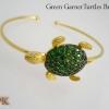 กำไลพลอยกรีนกราเนต (Green Garnet Turtles Bracelet)