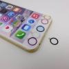 Touch id button ที่ครอบปุ่มโฮมอลูมิเนียม Iphone5/5s/Iphone 6 4.7/Iphone6 5.5 plus