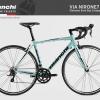 จักรยานเสือหมอบ Bianchi NIRONE 7 ,18 สปีด 2016