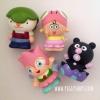 เซ็ตตุ๊กตาโมเดลอันปัน anpanman and friends collections 4 ชิ้น