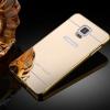 Bumper อลูมิเนียมขอบเงาฝาหลังเลื่อนสไลด์ ซัมซุง Note 4