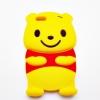 เคสซิลิโคน 3D ตัว Pooh ไอโฟน 5/5s