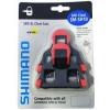 คลิ๊ปติดพื้นรองเท้า Cleat Sets บันใดเสือหมอบ รุ่น SM-SH10, สีแดง.