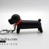 ไฟแช็ค รูปสุนัขพันธุ์ไส้กรอกสีดำ หมาตัวยาวสีดำ น่ารัก มีพวงกุญแจสามารถพกพาได้