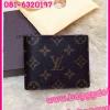 Louis Vuitton Monogram Canvas Wallet กระเป๋าสตางค์หลุยส์ ใบสั้นสองพับ **เกรดAAA+**