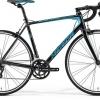 จักรยานเสือหมอบ MERIDA Scultura 100 ,16 สปีด Claris+Sora ตะเกียบฟูลคาร์บอน 2017