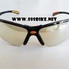 แว่นตากันแดด YAMADA แว่นตานิรภัย YS-312 เลนส์ดำเคลือบปรอท(มีถุงผ้า)