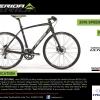 จักรยานเสือหมอบแฮนด์ตรง MERIDA SPEEDER 500 ,22 สปีด 2016