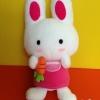 ตุ๊กตาพวงกุญแจกระต่ายน้อย Sanrio Cheery Chums 2013' Plush Doll