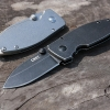 CRKT Burnley Squid Frame Lock Knife Black Stonewash 2490KS