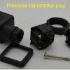 Pressure transmitter plug