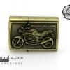 ไฟแช็คน้ำมัน ลายรถ Big bike Moto Guzzi Breva 1200CC. Classic
