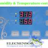 ชุดแสดงผลและควบคุมความชื้นและอุณหภูมิ